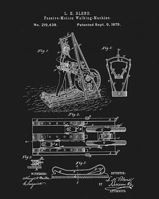 1879 Treadmill Poster