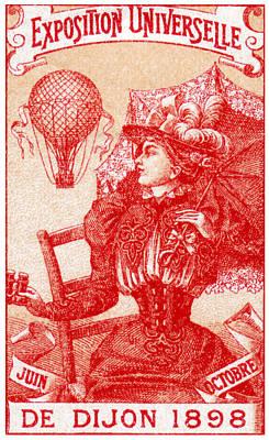 1898 Dijon France International Expo Poster by Historic Image