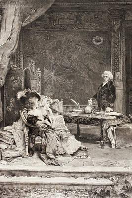 18th Century Aristocratic Women Poster