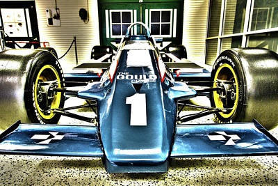 Indy Race Car Museum Poster by ELITE IMAGE photography By Chad McDermott