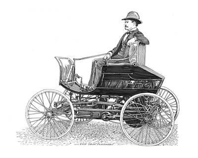 1903 Haynes Pioneer Poster