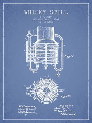 1909 Whisky Still Patent Fb78_lb Poster