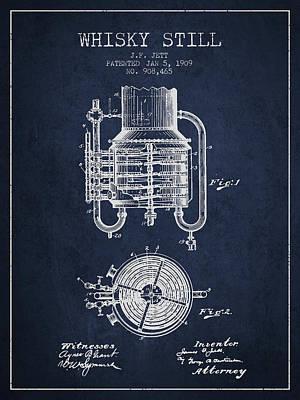 1909 Whisky Still Patent Fb78_nb Poster