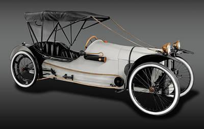 1913 Imp Cyclecar  -  1913impcycleautofa171742 Poster