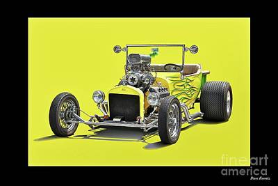 1923 Ford Roadster Pickup Poster