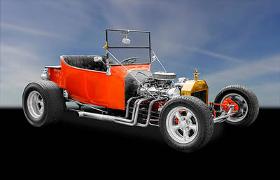 1923 Ford T-bucket Hot Rod Poster by Frank J Benz