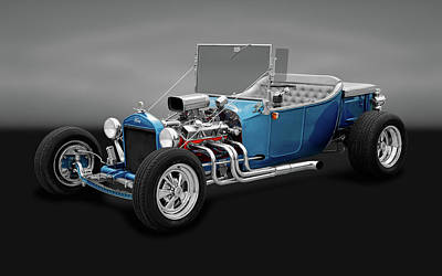 1923 Ford T-bucket Roadster  -  1923fordtbuckrdstrgry170297 Poster by Frank J Benz