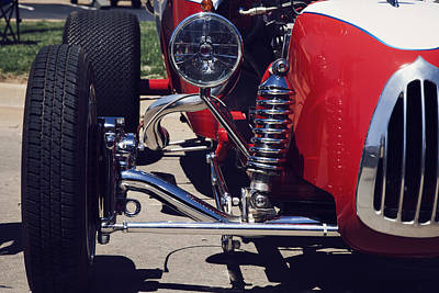 1923 Ford T Bucket Street Rod Poster