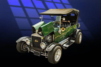 1924 Ford Model T Touring Hot Rod 5509.002 Poster by M K  Miller