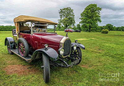 1925 Humber 12/25 Poster by Adrian Evans