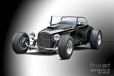 1927 Ford 'track T' Roadster II Poster by Dave Koontz