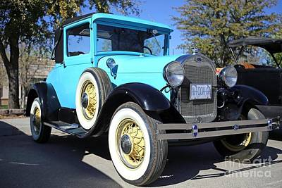 1929 Ford Model A Coupe Poster