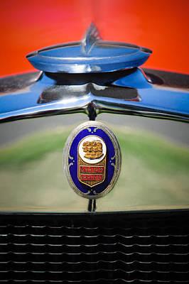 1929 Graham-paige Sport Roadster Emblem -0810c Poster by Jill Reger