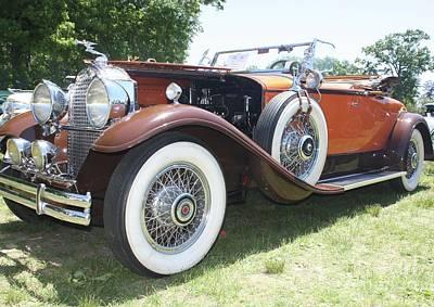 1930 Packard Convertible Roadster Poster by John Telfer