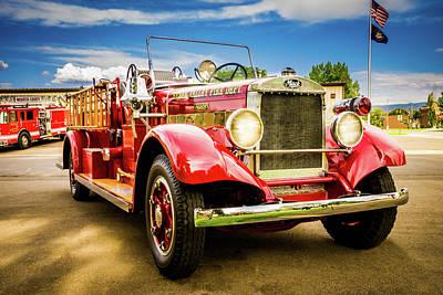 1931 Mack - Heber Valley Fire Dept. Poster