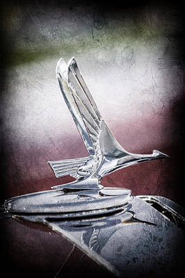 1931 Studebaker President Four Seasons Roadster Hood Ornament -1066ac Poster