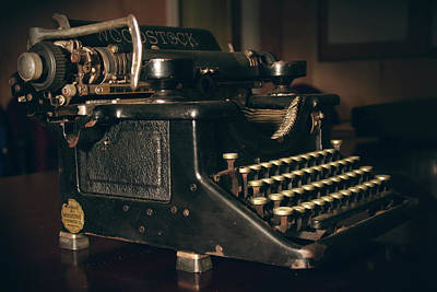 1931 Woodstock Typewriter Poster by Brian Davis