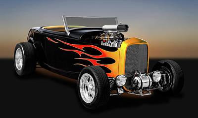 1932 Ford Deuce Coupe High Boy - Grounds 4 Divorce  -  32fdhbcv9579 Poster