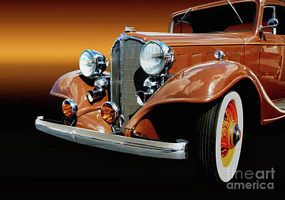 1933 Buick Coupe Poster by Thomas Burtney