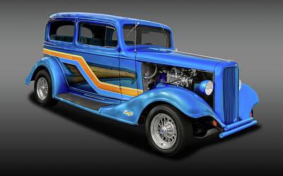 1933 Chevrolet Eagle 2 Door Sedan  -  1933chevsedfa9866 Poster