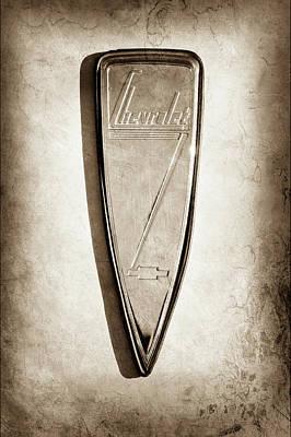 1933 Chevrolet Emblem -0509s Poster by Jill Reger