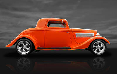 1933 Ford Three Window Coupe Poster
