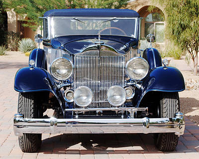 1933 Packard 12 Convertible Coupe Poster by Jill Reger