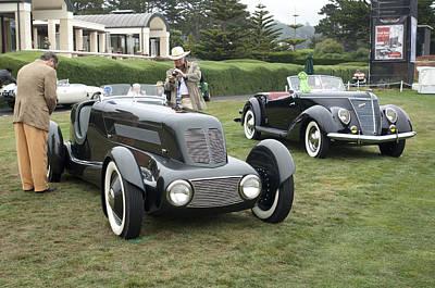 1934 Ford Model 40 Special Speedster Poster by Jill Reger