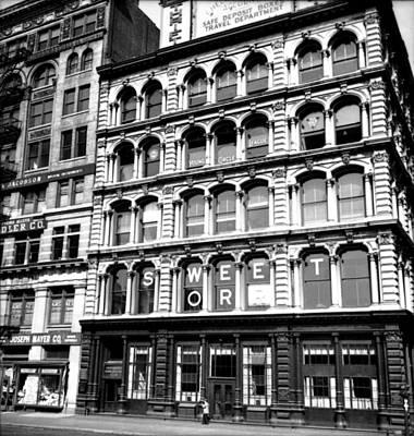 1935 15 Union Square New York City Poster