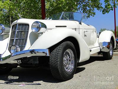 1935 Auburn 851 Boattail Speedster Poster