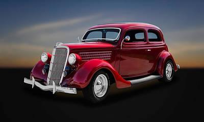 1935 Ford 2-door Sedan  -  35fdsd11 Poster