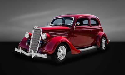 1935 Ford 2-door Sedan  -  35fdsd33 Poster