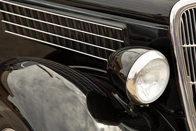 1935 Ford Sedan Vintage Antique Classic Car Art Prints 5045.02 Poster by M K  Miller
