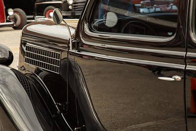 1935 Ford Sedan Vintage Antique Classic Car Art Prints 5050.02 Poster by M K  Miller
