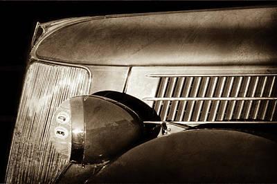 1936 Ford Phaeton Grille -0303s Poster