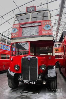 1937 Aec Regent I Bus Stl2377 Poster