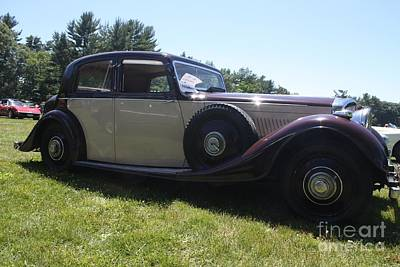 1937 Bentley Poster by John Telfer