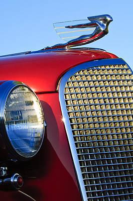 1937 Cadillac V8 Hood Ornament 2 Poster by Jill Reger