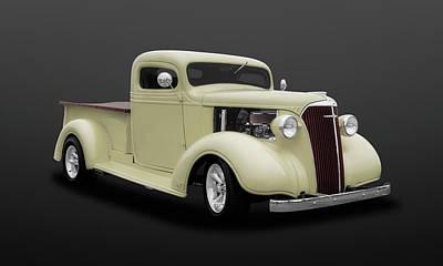 1937 Chevrolet Pickup Truck  -  47chputkdsat502 Poster by Frank J Benz