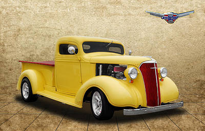 1937 Chevrolet Truck Poster by Frank J Benz