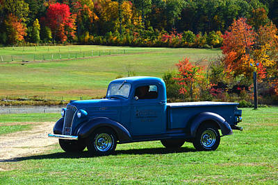 1937 Chevrolet Truck Poster by Mike Martin