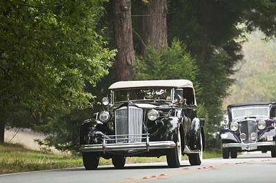 1937 Packard 1507 Twelve Sport Phaeton  Poster