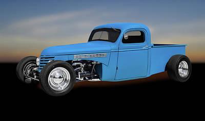 1939 Chevrolet Custom Pickup Truck  -  1939chevycusttrk0116 Poster by Frank J Benz