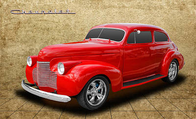 1940 Chevrolet Special Deluxe Poster