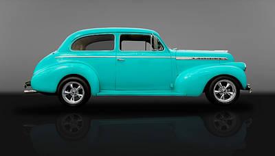 1940 Chevrolet Special Deluxe Sedan - V2 Poster