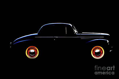 1940 Studebaker Business Coupe Poster by Baggieoldboy