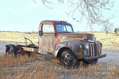 1940s Ford Farm Truck Poster