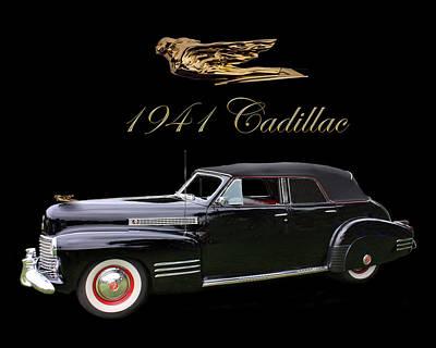 1941 Cadillac Series 62 Convertible Sedan Poster