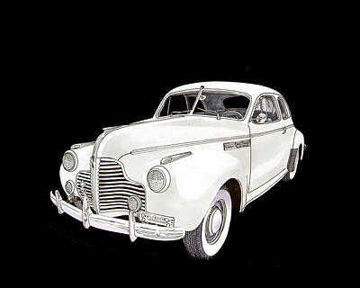 1941 Chevrolet Master Deluxe Coupe Poster