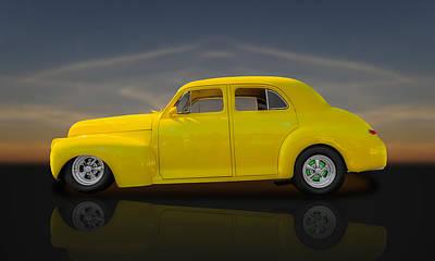 1941 Chevrolet Special Deluxe Fleetline  -  Chv1 Poster